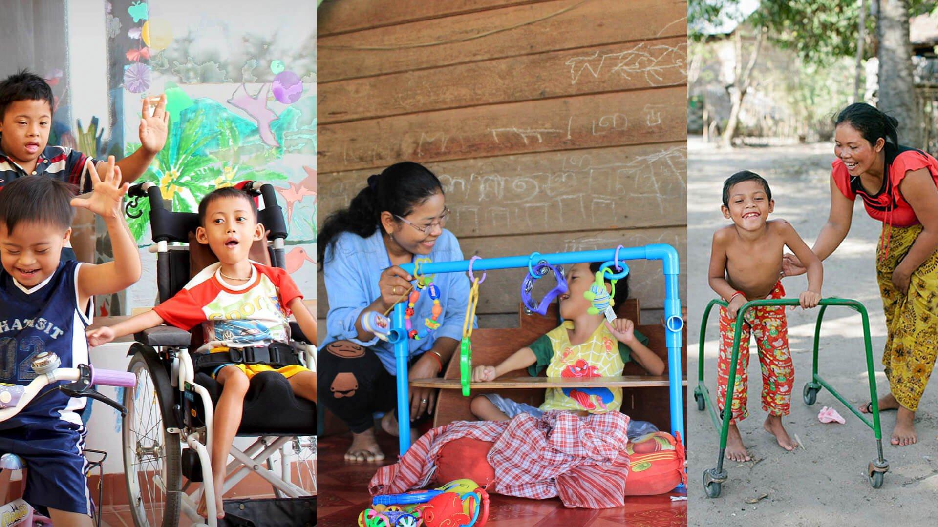 Barn med funktionsnedsättningar